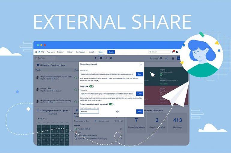 Share Jira data externally